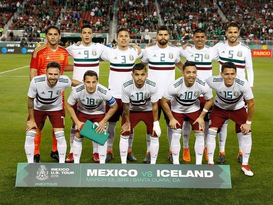 Este es el equipo de México que derrotó 3-0 a la selección