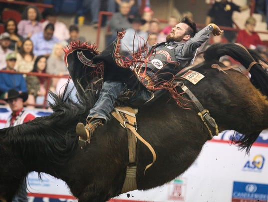 9th performance of the San Angelo Stock Show and Rodeo