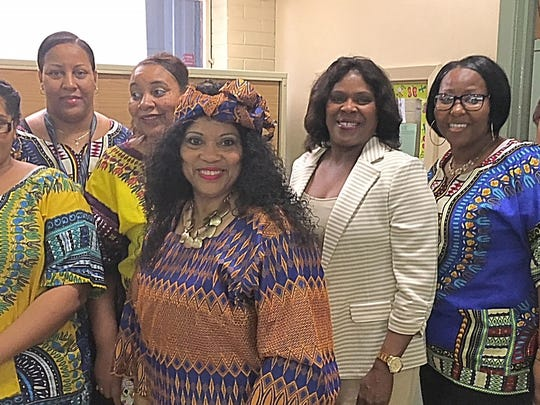 Grolee Elementary School celebrated Black history with a room filled with the spirit of pride.