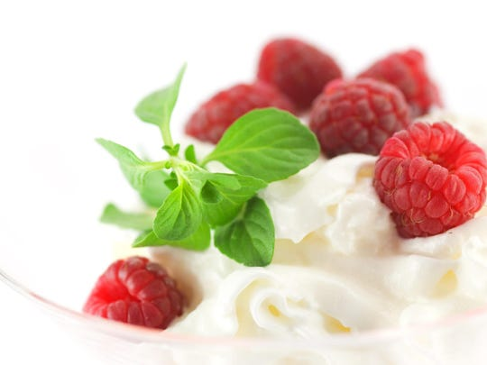 Have low-fat ice cream about once a month.