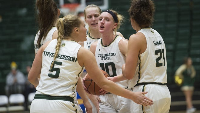 The CSU women's basketball team has formed a tight team bond with 14 players from five different countries.