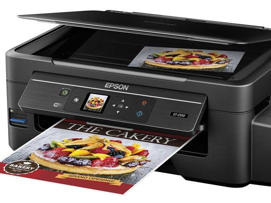 The Epson EcoTank All-In-One Printer.