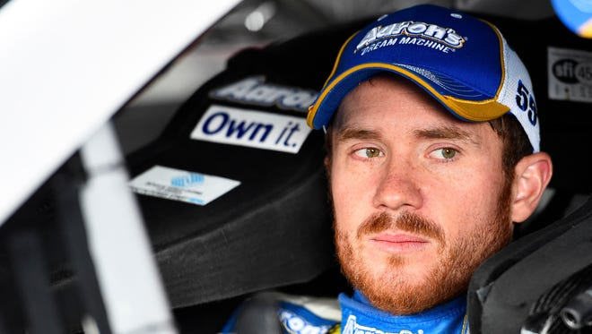 Brian Vickers says he's trying to not dwell on the past, but instead focus on the future after races that don't turn out as he'd hoped.