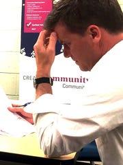 Matt Cota, a member of South Burlington's Development