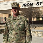 Fort Bliss assignment a homecoming for artillery leader Tolbert, family