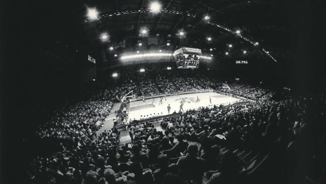 The Milwaukee Bucks had a 582-209 home record in 20 seasons playing at the MECCA, also known as the Milwaukee Arena.