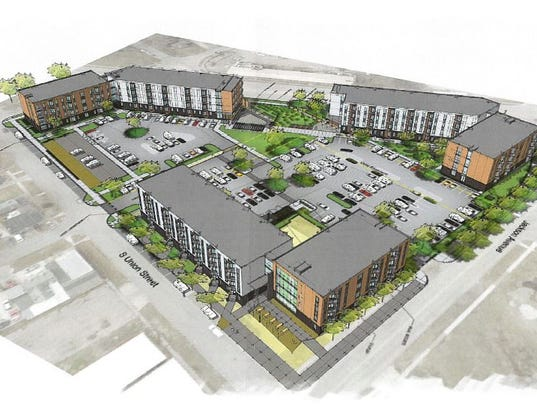 Plans for apartments on south side grow to 40m for 40m apartment design