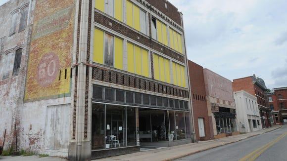 The Feldman's Property on West Market Street, as it