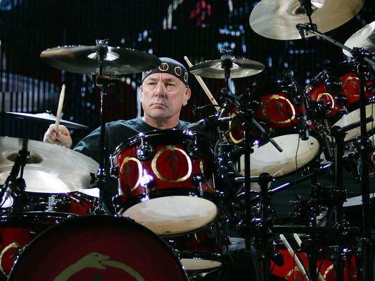 "Rush drummer Neil Peart hatched the plot for the ""Clockwork Angels"" saga with novelist Kevin J. Anderson."