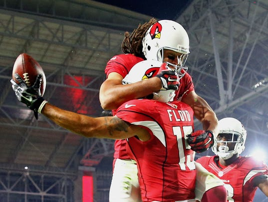 Cardinals' ascension has Larry Fitzgerald riding high