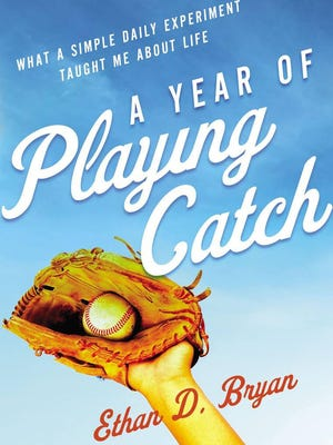 Missouri resident Ethan Bryan has a written a book about playing catch all 365 days of 2018. Columnist Bob Dyer and Cuyahoga Falls resident Stan Sipka joined him one day.