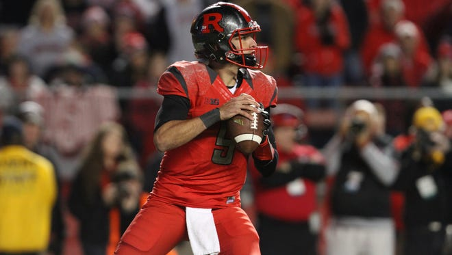 Rutgers quarterback Chris Laviano was on fire against Indiana and struggled against Ohio State.