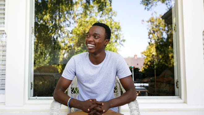 Joel Nzabakiza, 19, came to Salem as a refugee in April 2015 due to the conflict in his home country of Democratic Republic of Congo. His mother and five brothers resettled in the states as well, and now live with relatives in Texas. Joel stayed in Salem to earn his diploma from McKay High School.