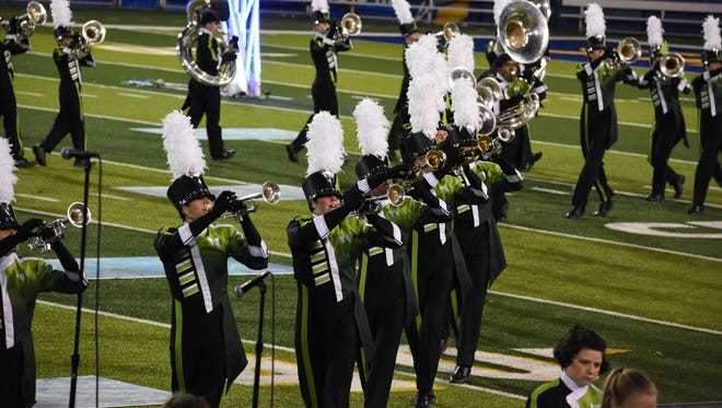 West Salem High School'smarching band placed first at theBands of America Northern California Regional Championships Saturday, Oct. 28, in San Jose, California.