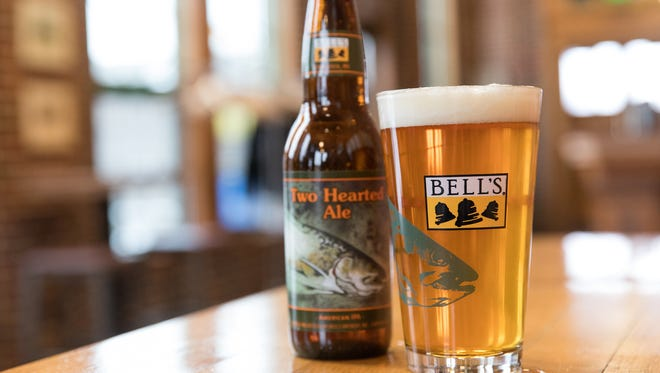 Two Hearted Ale, an IPA from Bell's Brewery in the Kalamazoo area, was named the No. 1 commercially-available beer in America yet again.