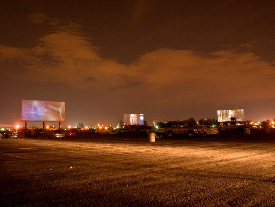 phoenixs first drivein movie theater