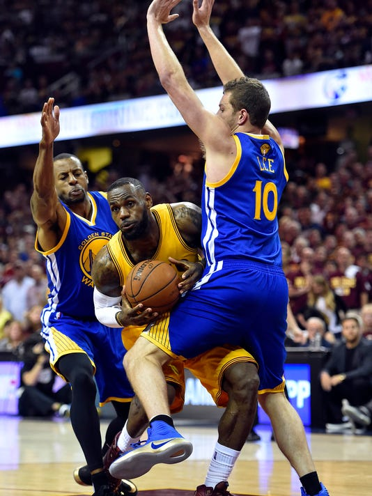Back to reality for Cavaliers as Warriors prove NBA Finals is far from over