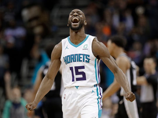 Kemba Walker will be a free agent this summer.