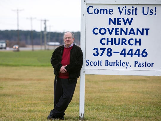 Scott Burkley, pastor at the New Covenant Presbyterian