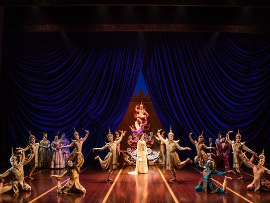 "A scene from the national tour of ""The King and I"""