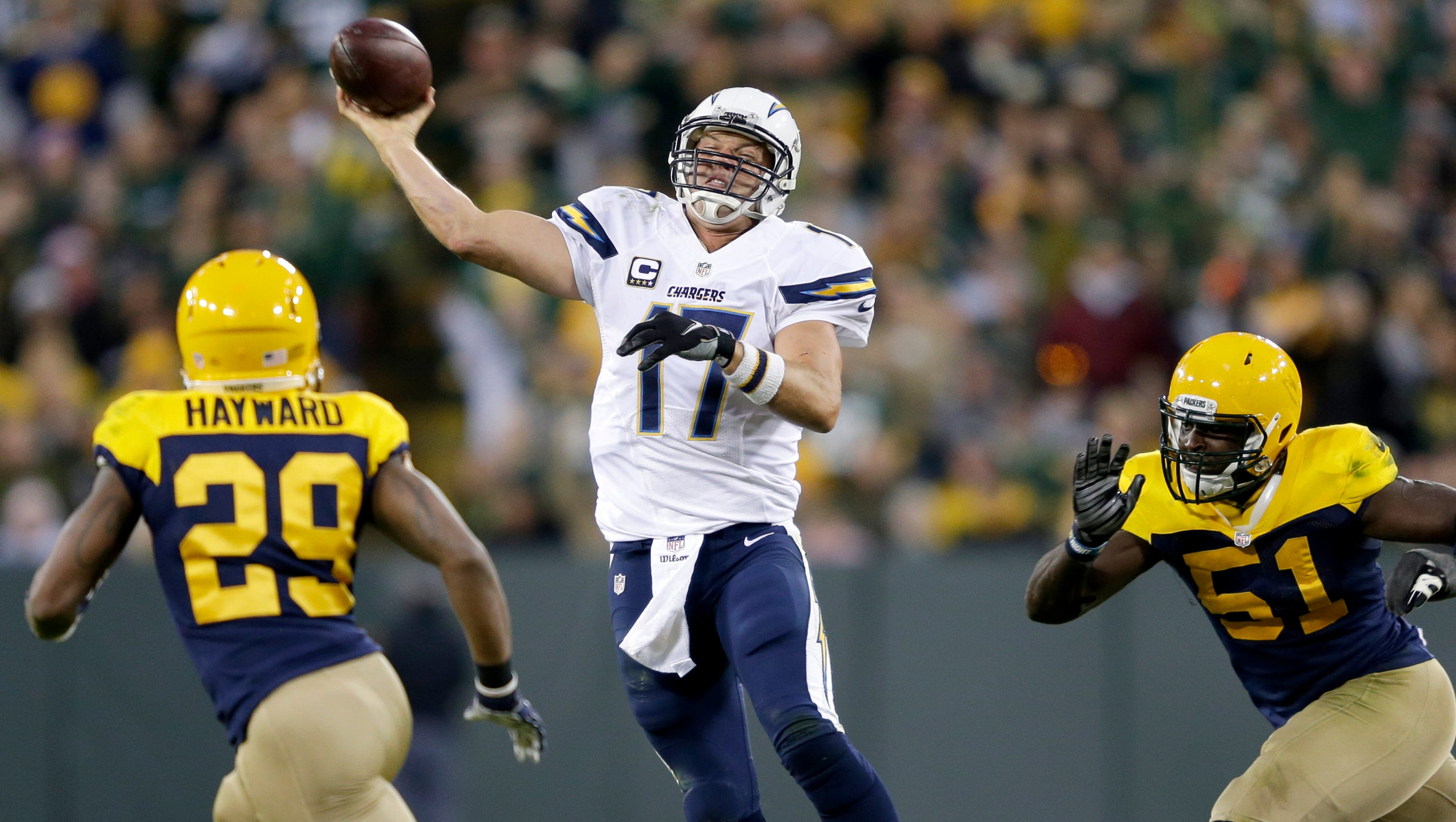 Packers Withstand Rivers Chargers