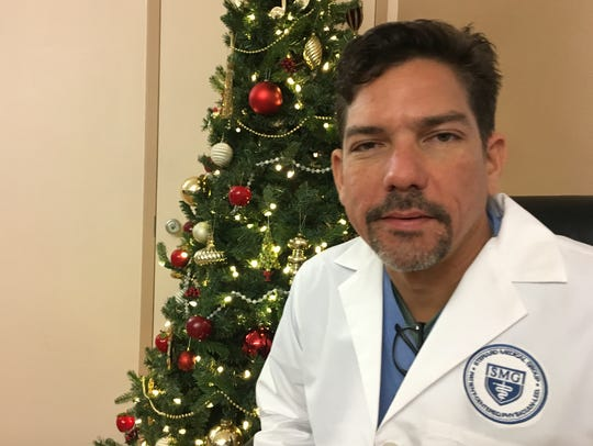 Dr. Javier Soto, an Obstetrician who practices out