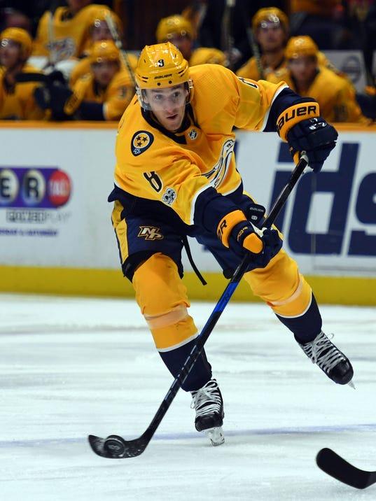 NHL: Pittsburgh Penguins at Nashville Predators