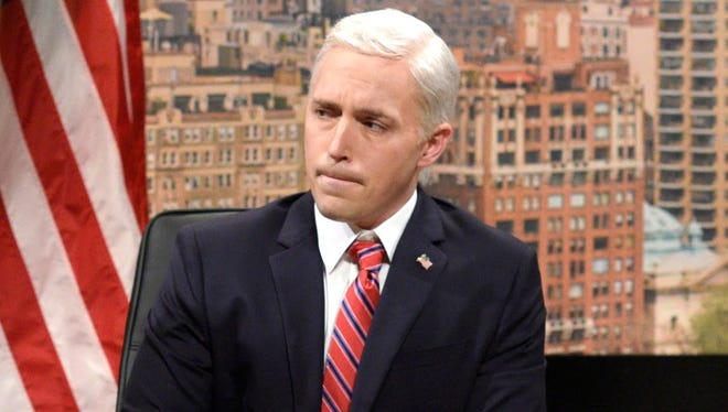 """Beck Bennett portrays Vice President Mike Pence on """"Saturday Night Live."""""""