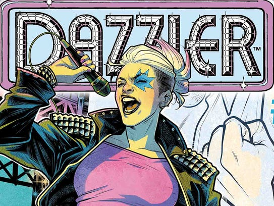 Dazzler is a punk-rock heroine who could dive into