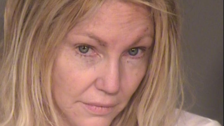 Heather Locklear arrested Sunday on suspicion of battery against responders