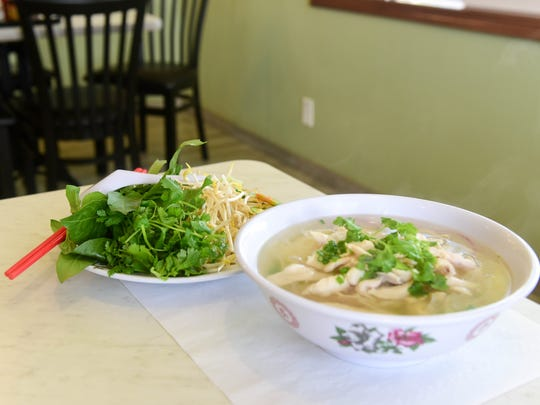 Pho Ga, a chicken noodle soup at A Dong restaurant on Thursday, July 28, 2016.