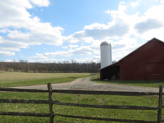 A historic Dutch barn that overlooks the D&R Canal