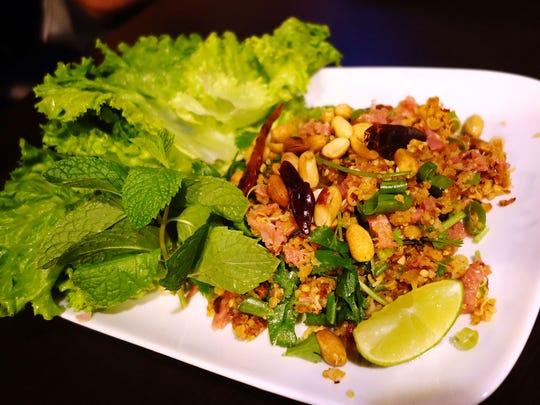 Nam at Smile Lao Thai. | Details: $10. 2107 S. Rural