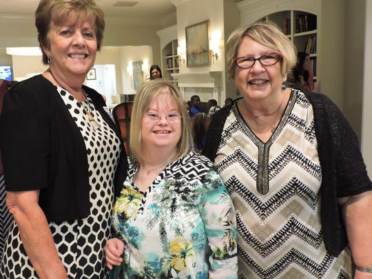 Carol Hodnett, vice president of Community Impact at United Way of Martin County, Trisha Overton and Suzy Hutchenson at the United Way of Martin County's Community Leaders' Breakfast.