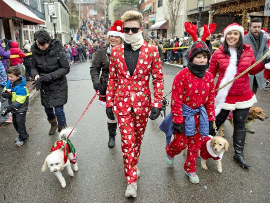The annual Reindog Parade takes place in Mount Adams Saturday. Come see what the fashion-minded Reindoggers are wearing this year!