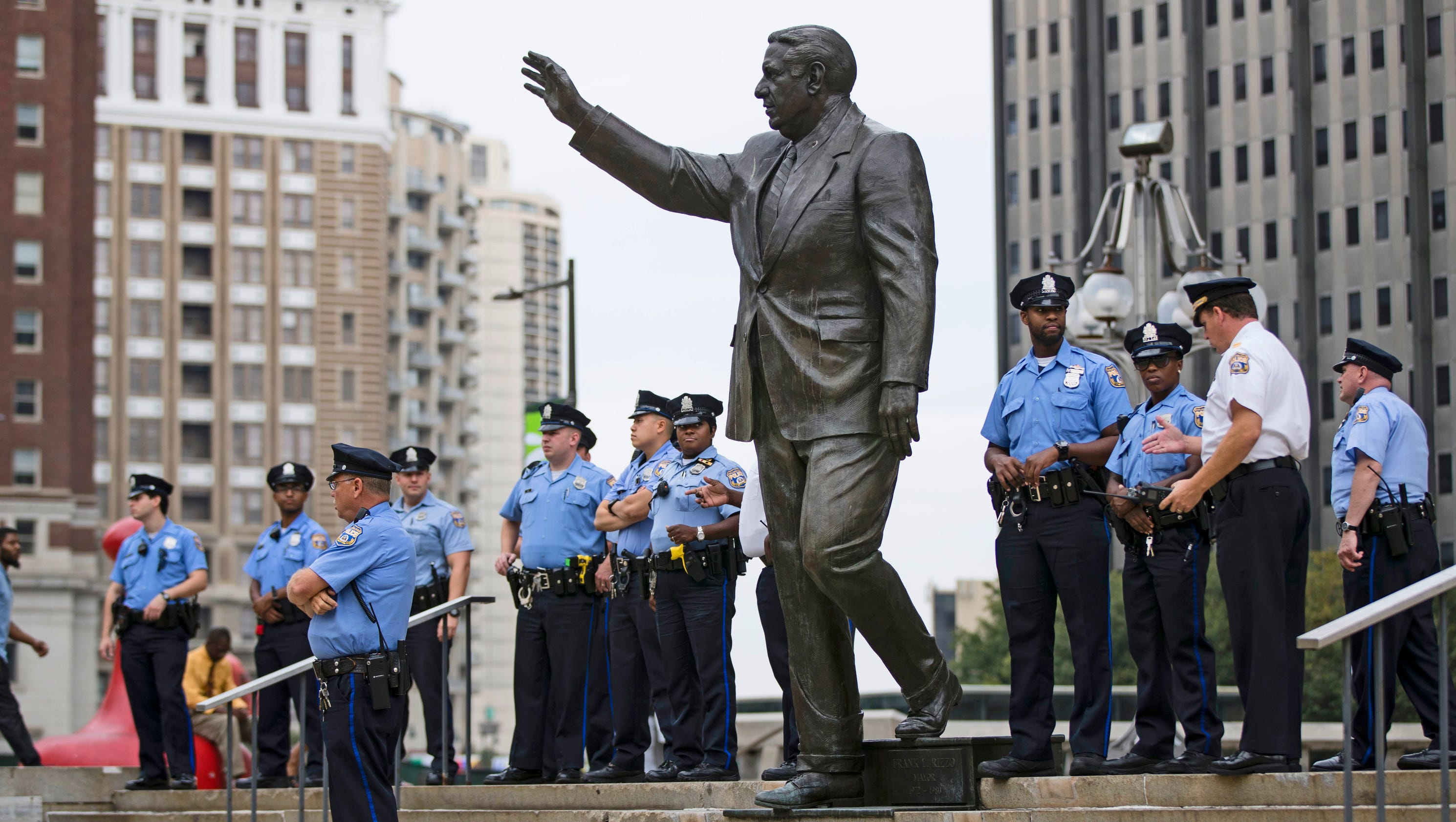 Philadelphia moving statue of controversial ex-mayor Frank Rizzo