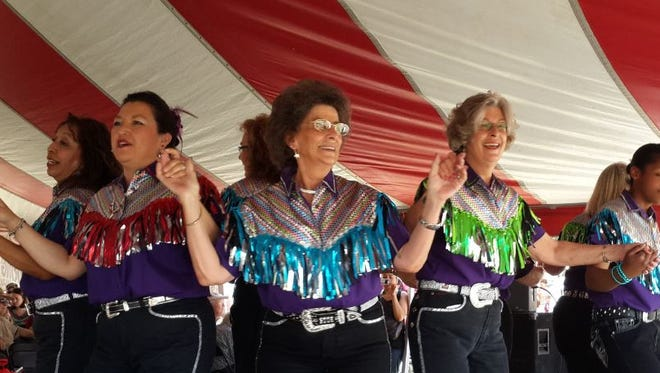 The Lone Star Cloggers dance troupe perform to popular songs from genres including country-western, rock and roll, Cajun and bluegrass. The group is marking its 20th year in San Angelo.