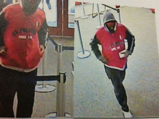 Police allege this man robbed the Members 1st Federal Credit Union in Springettsbury Township on Thursday afternoon.