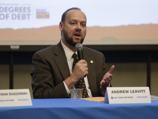 UW-Oshkosh Chancellor Andrew Leavitt talks about the