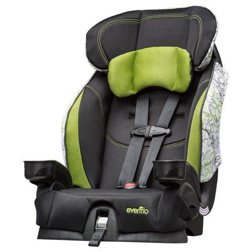 Evenflo recalls 1.3 million child seat buckles