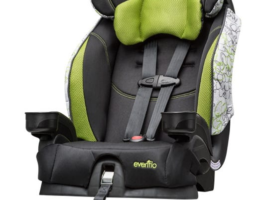 Evenflo Recalls 13 Million Child Seat Buckles