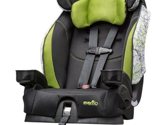 Car Seat Recall >> Evenflo Recalls 1 3 Million Child Seat Buckles
