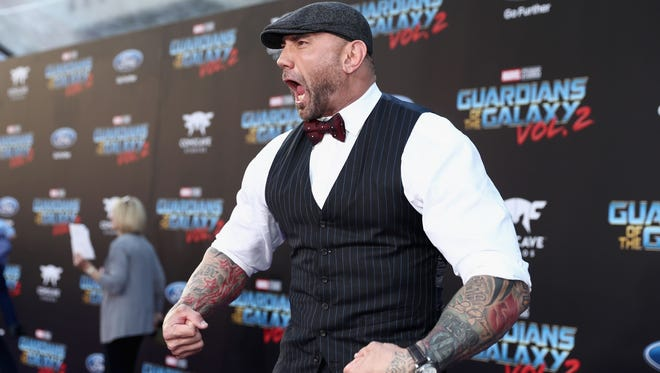 "Dave Bautista, who plays Drax in ""Guardians of the Galaxy,""has canceled his appearance at Phoenix Comic Fest 2018."
