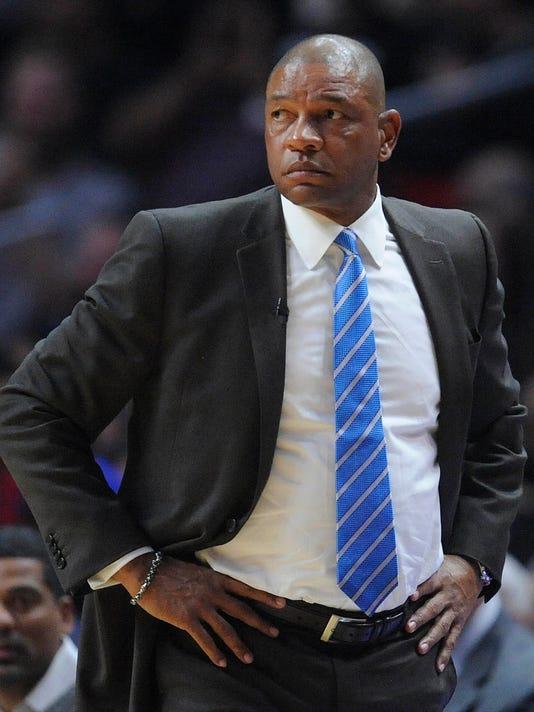 USP NBA: HOUSTON ROCKETS AT LOS ANGELES CLIPPERS S BKN LAC HOU USA CA