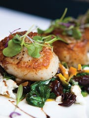 The scallops from The Oceanaire