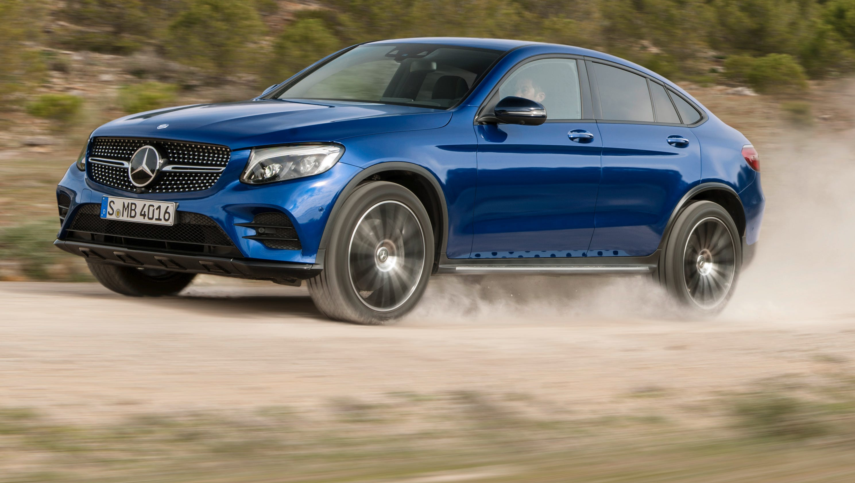 Mercedes benz shows new glc coupe for Merceded benz usa