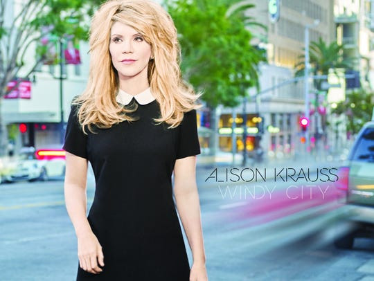 The cover of Alison Krauss' 'Windy City.'