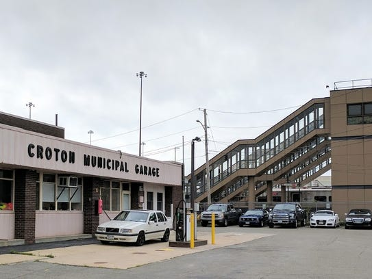 The Croton Municipal Garage will be razed and turned
