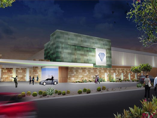 A rendering of the Tohono O'odham casino.