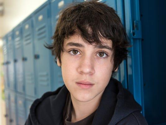 Pensive Teenager